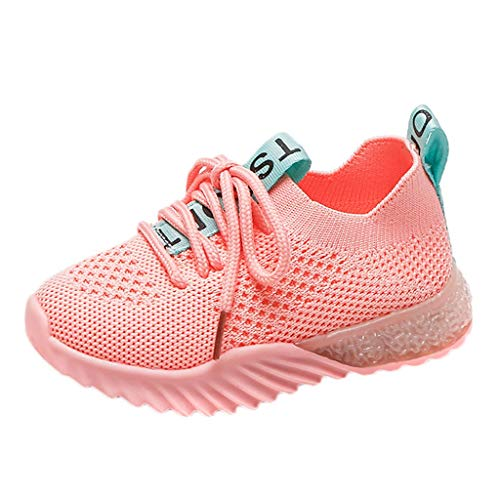 Xshuai  Shoes for Kids, Children Kids Baby Girls Boys Letter Mesh Led Luminous Sport Run Sneakers Shoes Anti-Slip Socks Slipper Shoes