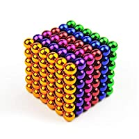 5MM 216 buckyballs magnetic educational toys bucky ball magnetic force magic Rubiks cube,multi color