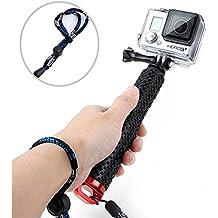 Vicdozia Impermeable Mano Agarre Ajustable Extensión Selfie Stick Handheld Monopod para Geekpro/GoPro HD Hero 5 4 3 + 3 2 1 SJ4000 SJ5000 SJ6000 SJ7000 SJ8000