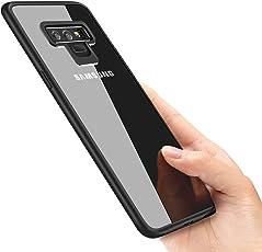 Galaxy note 9 Handyhülle , omitium Schutzhülle Samsung Galaxy note 9 Silikon Hülle Ultra Dünn TPU Bumper case Durchsichtige Anti-Shock Kratzfest Hülle für Samsung Galaxy note 9 Case Cover