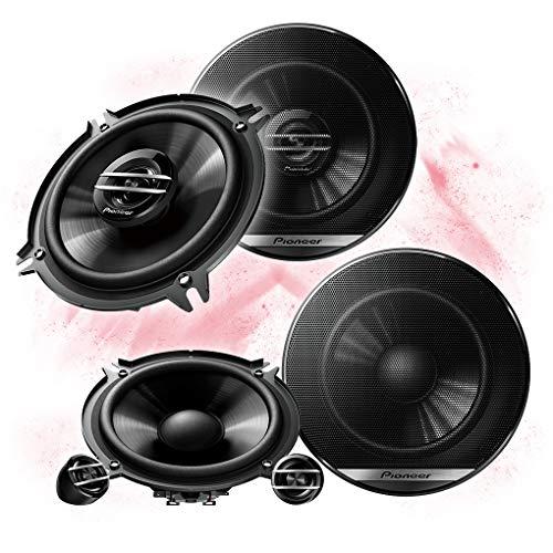 Pioneer Front/Heck 13cm/130mm Auto Lautsprecher/Boxen/Speaker Komplett-Set kompatibel für Honda (Car Audio Lautsprecher 8 Pioneer)
