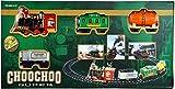 #4: Ramadoo® Choo Choo Super Train Set Battery Operated Light, Sound & Smoke (Perimeter 240 cm)