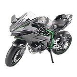 Auto Modello Moto Modèle 1/12 Kawasaki H2R Moto Modèle en Alliage Modèle...