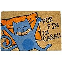 koko doormats 135299 Felpudo Diseño por Fin En Casa, Coco, 60 x 40 cm
