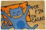 koko doormats 135299 Felpudo Diseño por Fin En Casa, Coco, 40 x 60 cm