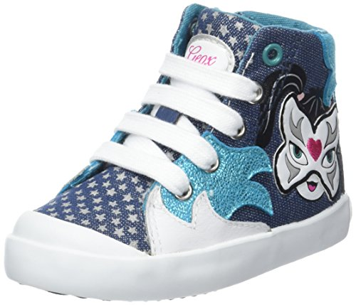 Geox B Kiwi Girl E, Chaussures Marche Bébé Fille Turquoise (AVIO/TURQUOISEC4133)
