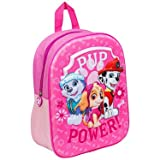 Paw-Patrol-3D-Kinderrucksack-Pink-Skye-Freunde-UK-Import