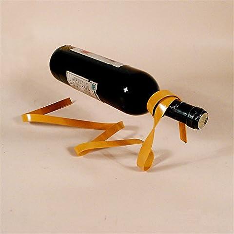 VIGVOG Ribbon Freestanding Wine Bottle Rack Holder