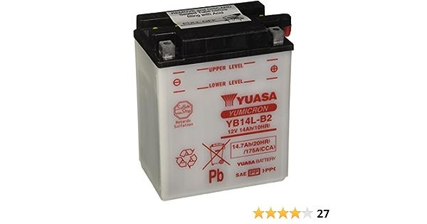 Yuasa Batterie Yb14l B2 Offen Ohne Saeure Auto