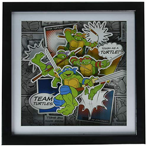 Teenage Mutant Ninja Turtles Silber Buffalo nt9206sb Team -