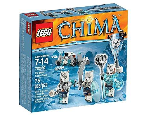 Lego-legends-of-chima-70230-Chima-pack-de-la-tribu-del-oso-gelido