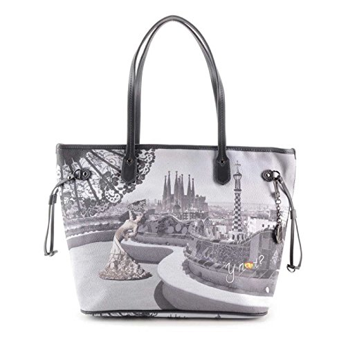 Borsa Shopping grande Y Not - G319 Flamenco