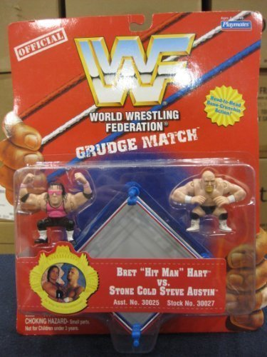 Preisvergleich Produktbild 1997 WWF GRUDE MATCH BRET HIT MAN HART VS STONE COLD AUSTIN by Playmates by Playmates