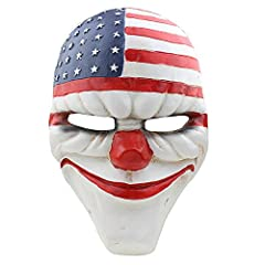 Idea Regalo - Halloween Cosplay maschera Payday 2 maschera (Dallas)