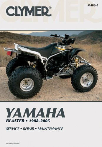 Yamaha Blaster 1988-2005 (Clymer Manuals: Motorcycle Repair) by Penton Staff (2000-05-24)