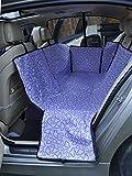 OHlive Gemütlich Universal Einstellbare Doppelschicht Wasserdichte Haustier Hund Katze Auto Bett Sitzbezug Matte für alle art von fahrzeuge Reise Hängematte Decke Sicherheit (Lila)
