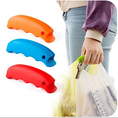 EQLEF® 3 Stück praktischer Transporttasche Hanging Qualität Erwähnung Dish Carry Taschen 15g Küchenhelfer Silikon Küchenzubehör Save Effort