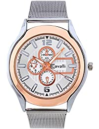 Cavalli Analogue White Dial Women'S And Girl'S Watch (Cs0700)