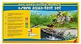 Sera 04000 Aqua-Test Set, Valigetta, Imparare a Conoscere Il PH, GH, KH, NO2 - Veloce, preciso, Professionale
