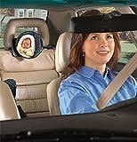 Zuoao Miroirs Auto Bébés Retroviseur De Surveillance Réglable avec 2 Sangles Design Miroir De Sécurité Pour Bébé