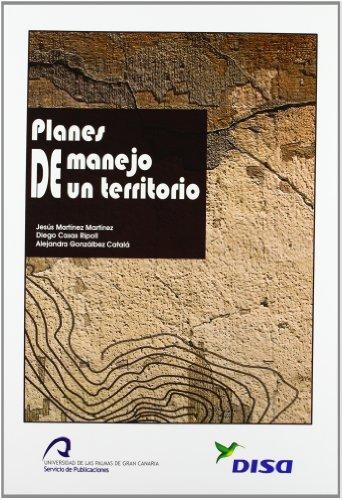 Planes de manejo de un territorio (Monografía)