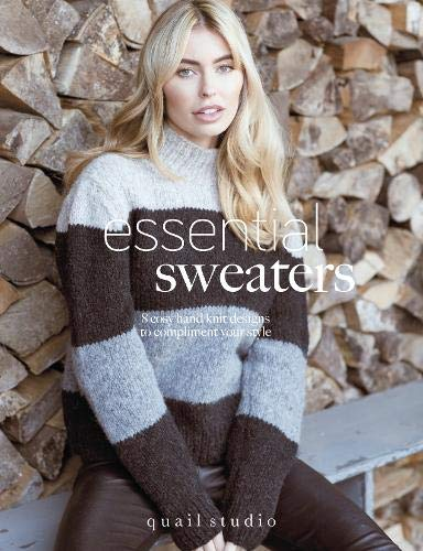 Essential Sweaters: 8 Cosy Hand Knit Designs to Compliment Your Style -