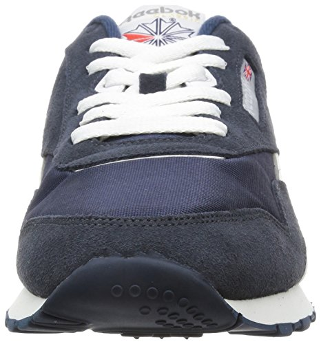 Reebok Classic Nylon - Chaussures - Mixte Adulte Bleu (Team Navy/Gris Platinum)