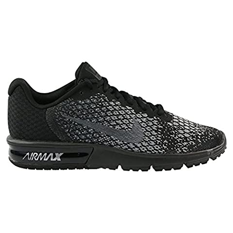 Nike Herren Air Max Sequent 2 Gymnastikschuhe, Schwarz (Black/Mtlc Hematite/Dk Grey/Wolf Grey/Volt), 46 EU