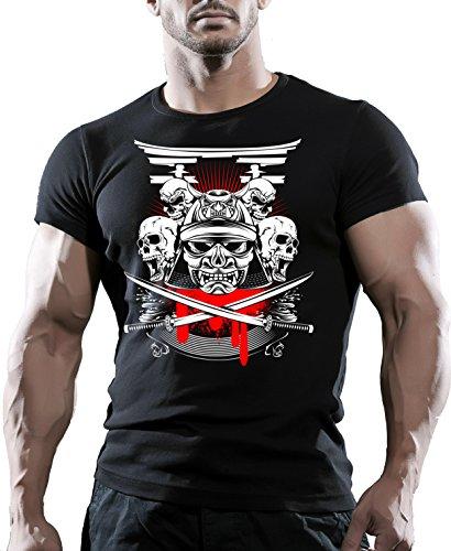 Arubas-uk - Camiseta - Cuello redondo - Manga corta - para hombre Negro negro