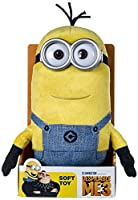 From the highly anticipated movie for the summer, Despicable me 3. Meet Tim! this loveable Minion comes with his signature outfit and his classic goggles. Tim makes the perfect companion to cuddle and play! tons of fun and completely loveable...