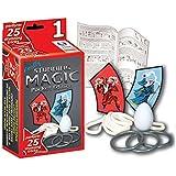 Hanky Panky Stunning Pocket Magic Collection with 25 Magic Tricks (Set 1)
