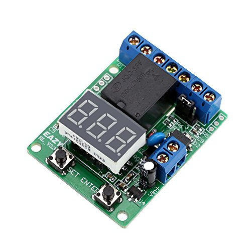 Hylotele 12V DC Voltage Detection Entlastung Monitor Test Relay Switch Control Board-Modul Laden Monitor Relay