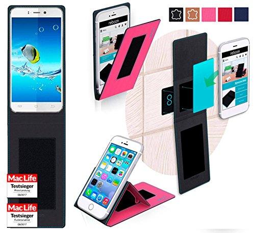 reboon JiaYu S2 Basic Hülle Tasche Cover Case Bumper | Pink | Testsieger