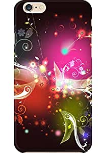 AMEZ designer printed 3d premium high quality back case cover for Apple iPhone 6S Plus (colourful abstract)