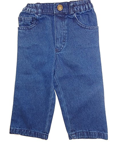 Young Collection Baby Hose, Jeans neutraler Schnitt, denim, Gr. 74
