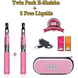 2x 650mah Battery Electronic Cigarette Vaporizer Shisha Hookah
