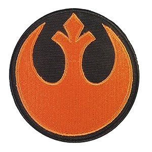 Rebel Alliance Orange Star Wars Embroidered Velcro Écusson Patch