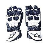 #1: R.J.VON Racing Bike Riding High Specification Sport Gloves (White, XL)