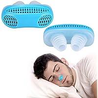 Schnarchen Clip, 2 lindern Schnarchen Stopper Guard leicht Schlafsack Atem Clip Nasal Dilator Gerät (Blau) preisvergleich bei billige-tabletten.eu