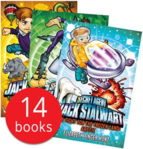 Secret Agent Jack Stalwart Collection 14 Books Set Fox Poacher