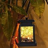 Sterne Solar Gartenleuchten, T-Buy Wasserdichte Außen Led Lichterkette Solar Jar Licht Fee Licht LED Sicherheit Nachtlicht mit Clip für Gartenterrasse Landschaft Dekoration