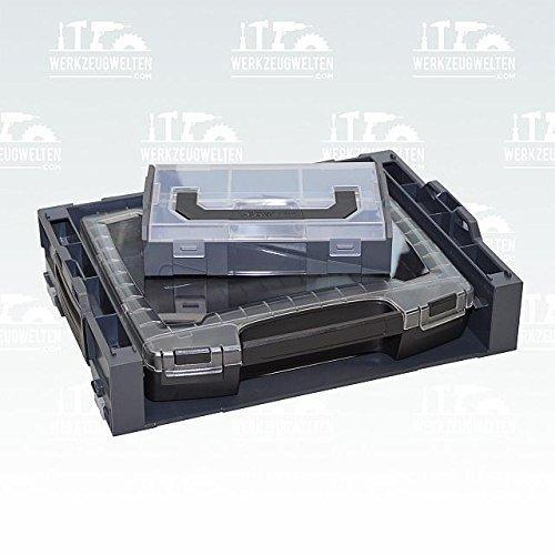 Preisvergleich Produktbild Bosch Sortimo i-Rack aktiv anthrazit bestückt mit i-Boxx 72 / 1 L-Boxx mini gratis