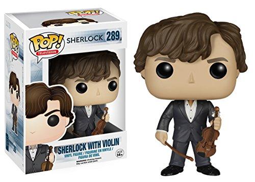 Funko Sherlock Holmes con violin (Sherlock 289) Funko Pop Sherlock