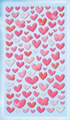 Creapop Sticker Softysticker * Herz - Herzen - Valentinstag * Aufkleber