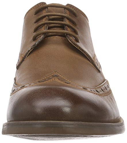 Clarks Exton, Brogues Homme Marron (Tobacco Leather)