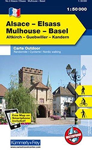 Alsace / Mulhouse - Basel 2013 (Carte outdoor)