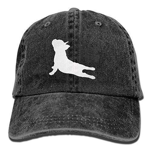 Desing shop French Bulldog Yoga Adjustable Cotton Hat