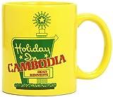 Dead Kennedys: Dead Kennedys - Holiday In Cambodia - Tasse gelb im Geschenkkarton (Zubehör)