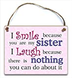 """Best Gifts For Sisters - """"I smile because you are my sister """" Review"""