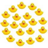 Romote 20Teile Gelb Baby Kinder Bad Spielzeug Cute Gummi Squeaky Ducky Ducky